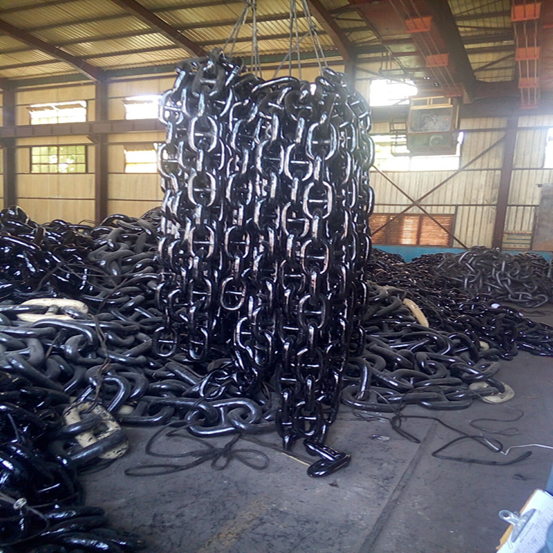 Marine Drop Forged Steel Ship Anchor Chain