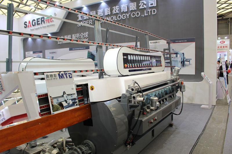 Best Sell 9 Motors Glass Beveling Machine