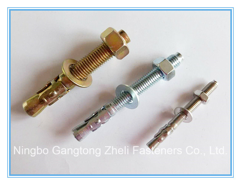 M6-M20 of Wedge Anchor Bolt with Stainless Steel