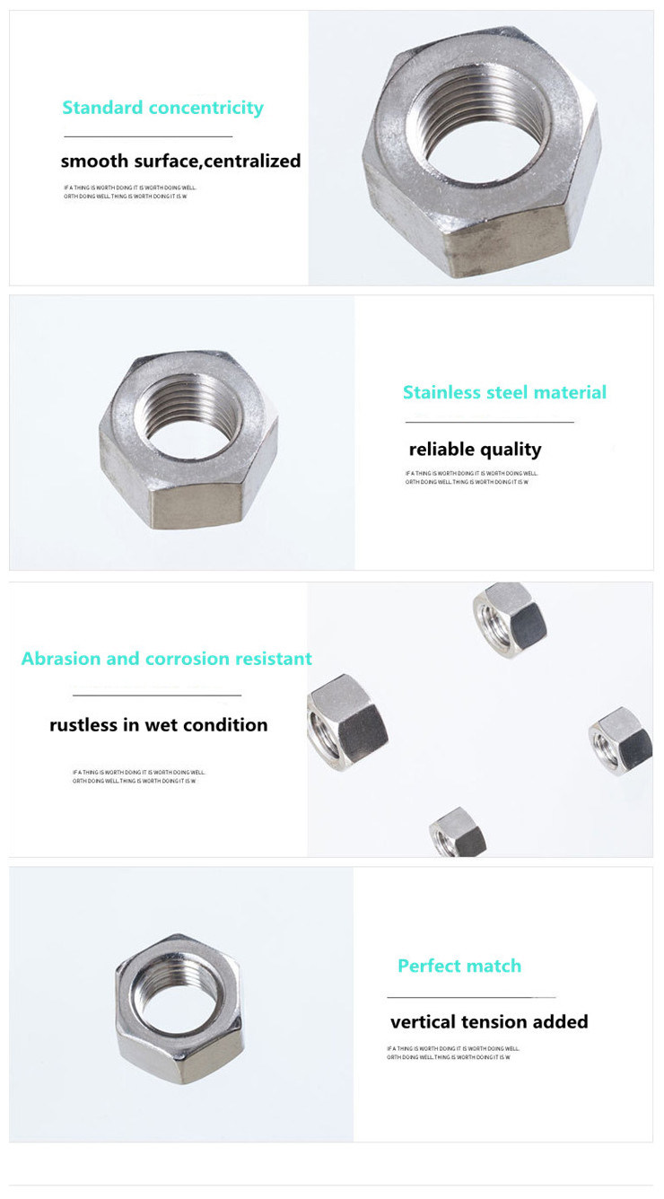Excellent Quality Hex Thick Nut Supplier