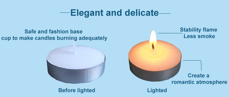 Tea Light Candle Size