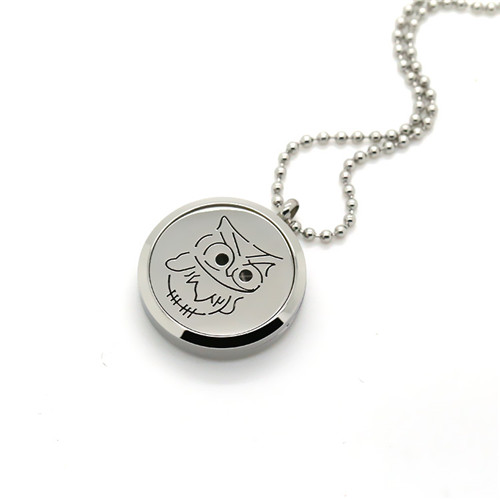 2016 Stainless Steel Locket Jewelry Perfume Box Pendant