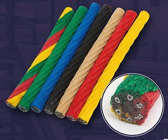 Multi Color Twist PP Nylon Rope for Swing Chair