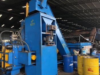 Y83W-630 Waste Steel Cuttings Horizontal Automatic Briquette Machine
