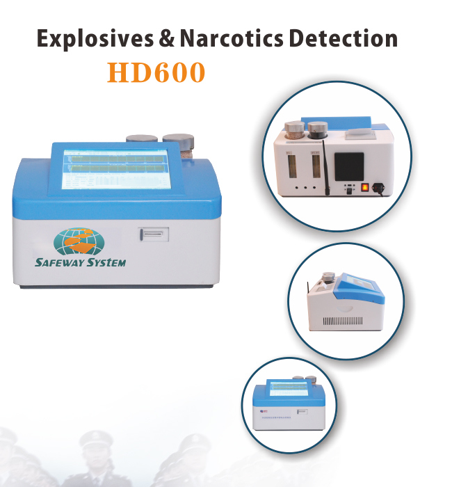 Desktop Explosives and Drugs Detectors for Security Check