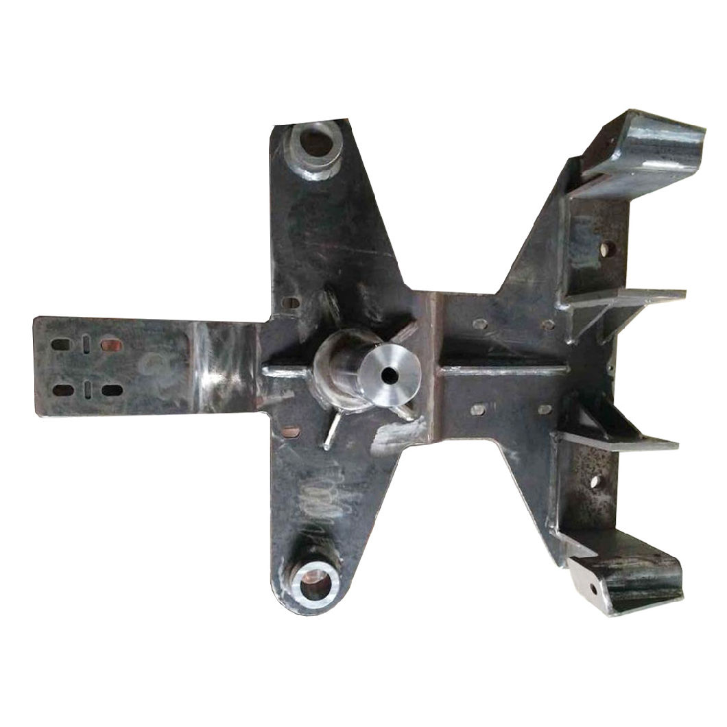 Welding Machined Metal Parts for Train Door Leaf Carrier (MP-38)