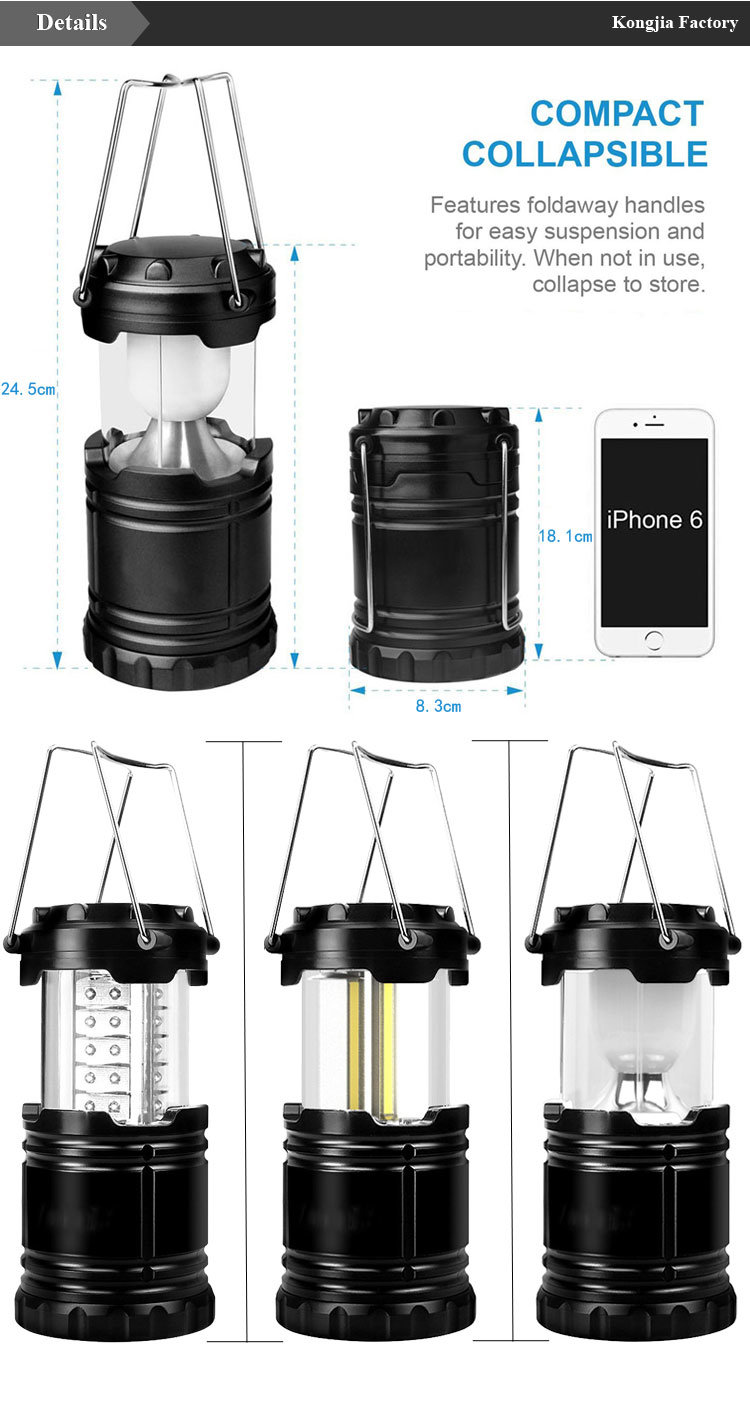 Outdoor Camping Lamp Portable LED Lantern