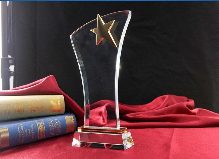 K9 Custom Crystal Craft Trophy Wholesale Glass Awards