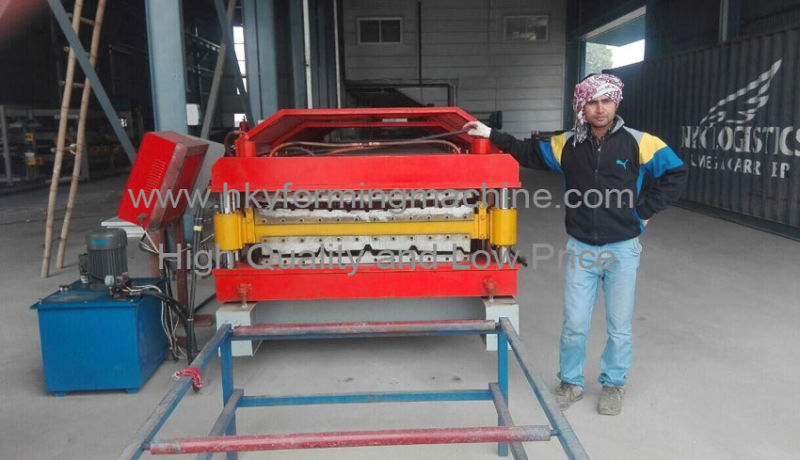 Trapez Riib Tile Make Machine, Cold Sheet Rolled Equip