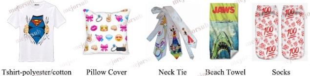 Different Sizes Custom Design Printed Sublimation Polyester Socks