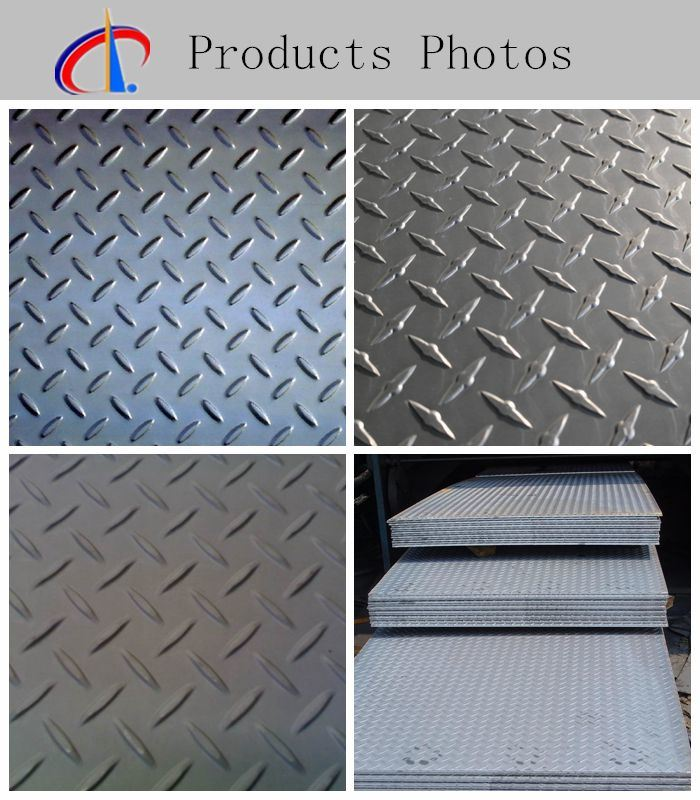 Q235 Carbon Steel Checkered Sheet From China