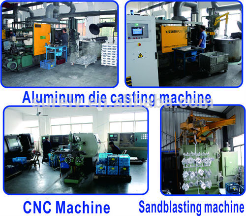 Various Types of Coffee Machine Aluminum Die Casting Parts