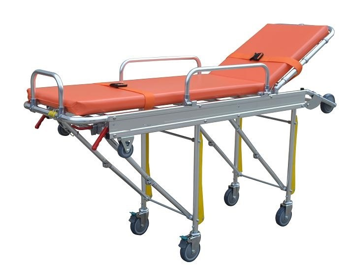 Hospital Mobile Ambulance Stretcher for Emergency