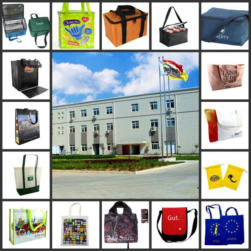 Customized Fashion EU Standard Travel 210 D Shopping Nylon Bags