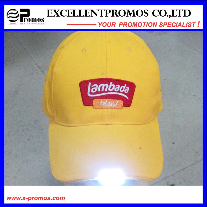 Logo Customized Light LED Cap for Promotion (EP-C7072)
