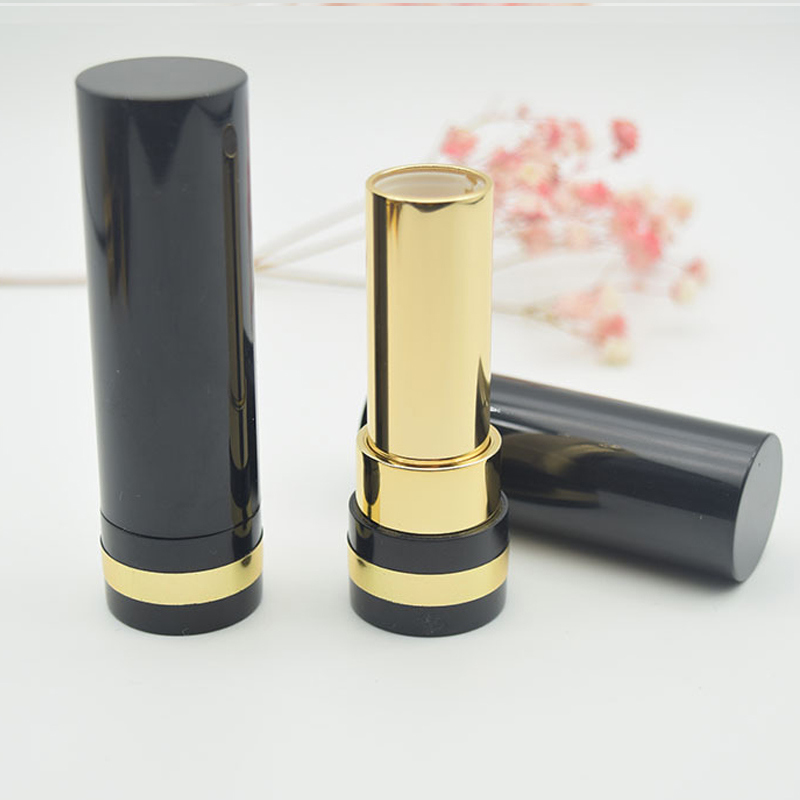 Round Lipstick Tube for Cosmetic Packaging