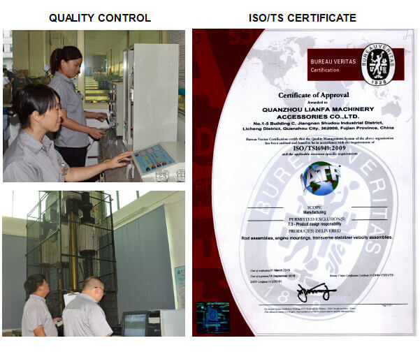 Auto/Truck Parts Driveshaft Center Bearing for Isuzu Spz (9-37516-045-1)