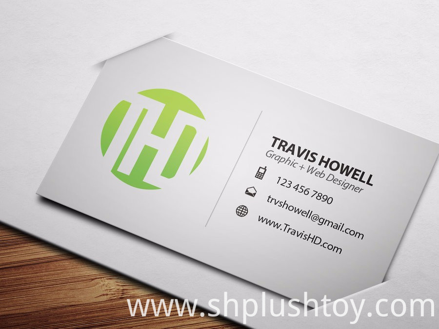 transparent business card, hot stamping transparent business card ...