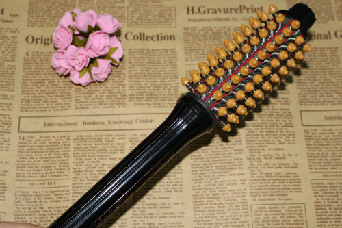Popular Hair Curler Comb Fancy Electric Straightening Hair Brush