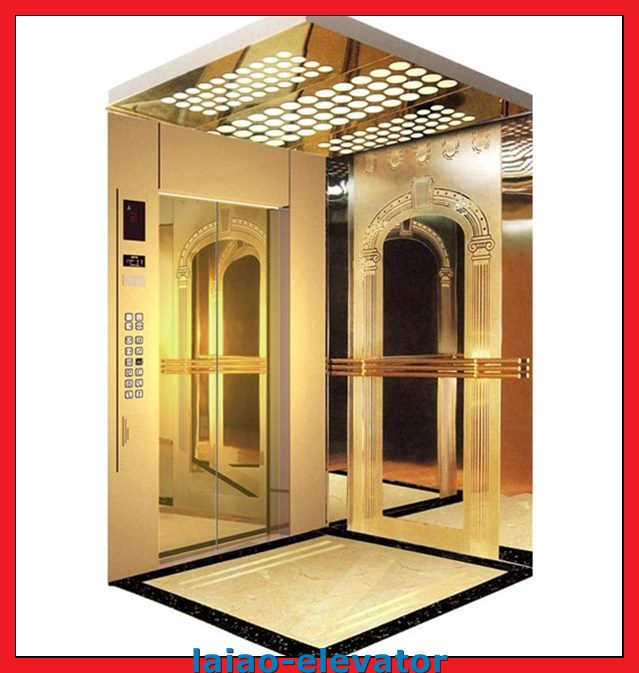 Light Curtain Emergency Light and Alarming Ring Passenger Lift
