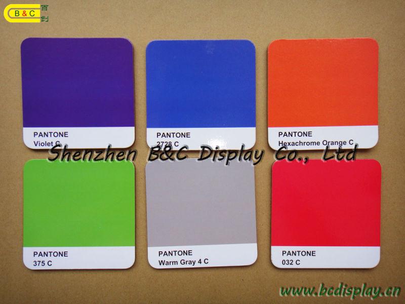 Pantone Color Cork Coaster, Customized Eco-Friendly Cork Cup Mat/Coaster (B&C-G69)