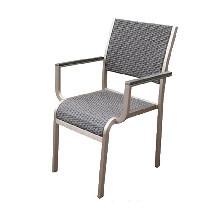 Outdoor Dining Set Patio Garden Furniture Wicker Cafe Stool Rattan Restaurant Beer Chair