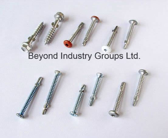 Roofing Screw Xylan T17 Cutting Point Moon Cut
