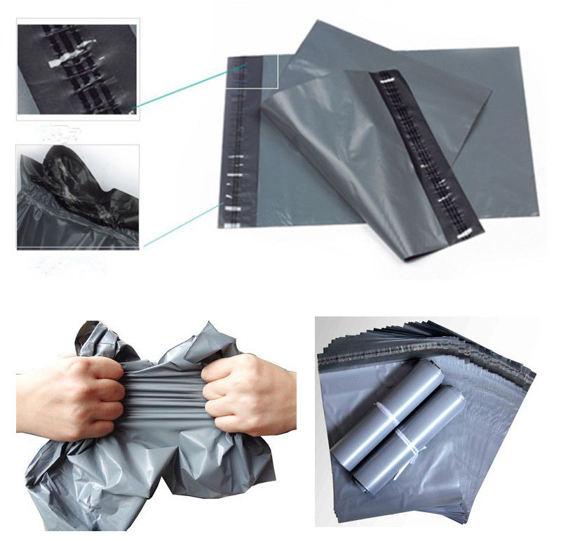 Customized Carrier Gray Plastic Bag