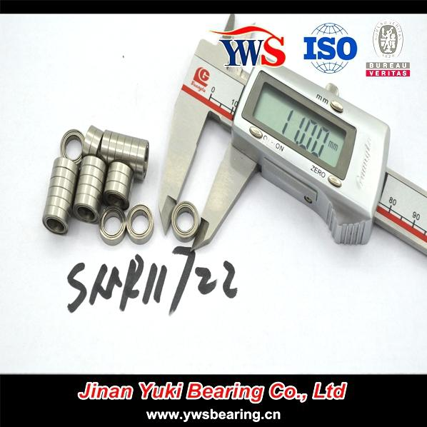 Smr117zz Stainless Steel Miniature Ball Bearing