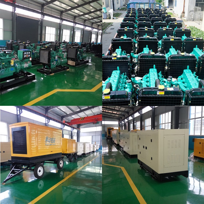 China Open Type 150kVA Electric Power Diesel Generating Sets