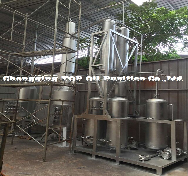 Top Unique Eco-Friendly Used Motor Oil Distillation Recycling Machine (EOS)