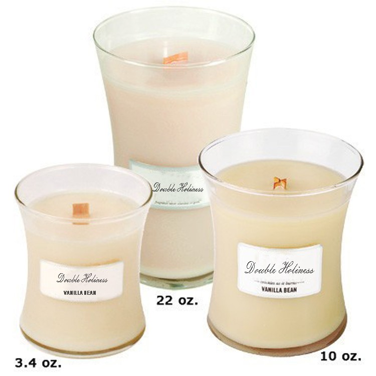 Scented Soy Wax Glass Candle