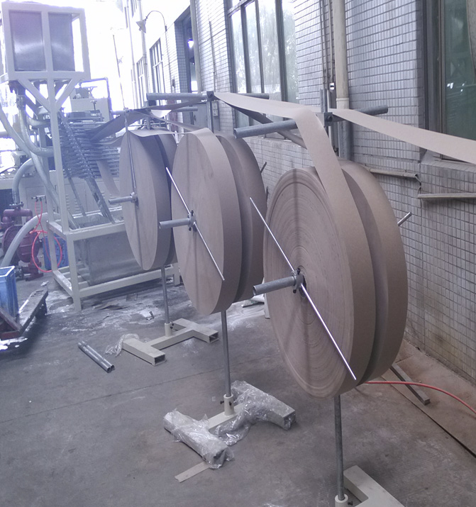 High Speed Spiral Paper Core Making Machine