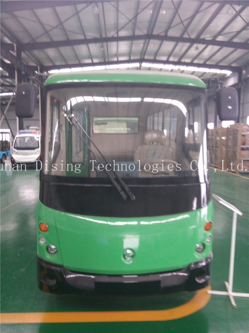 Ce Approval Enclosed Electric Bus E14 with 96V Power Tarin