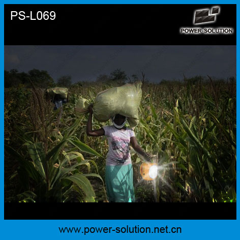Portable Solar Panel Power Green Energy Solar Lamp Light with Additional LED Bulb