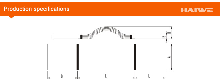 Mts Copper Busbar Expansion Joint (connected with each others)