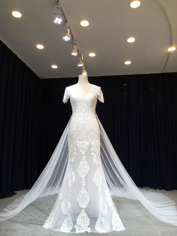 Aoliweiya New Arrival Spring Fashion Wedding Dress