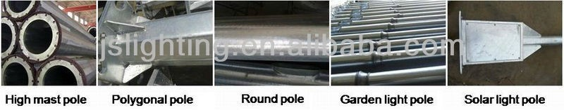 Hot-DIP Galvinized 10m Solar Lamp Post Prices of Steel Poles