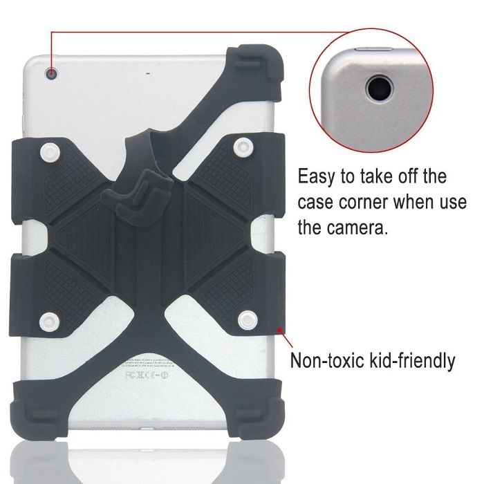 Universal Silicon Case Cover for Tablets