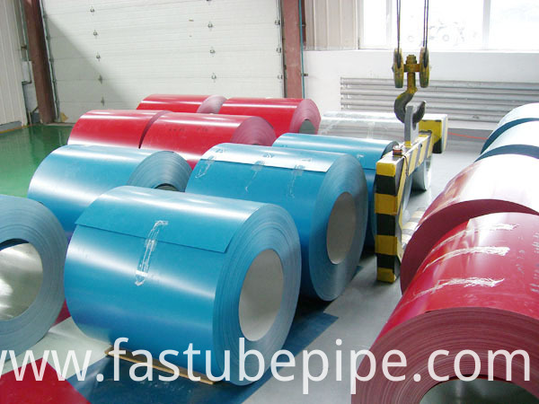 Shandong Very Competitive Color Galvanized Steel Coil for Building Material