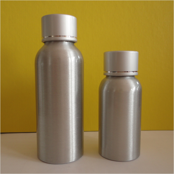 Premium Aluminum Bottle with Spray for Packaging (AB-09)