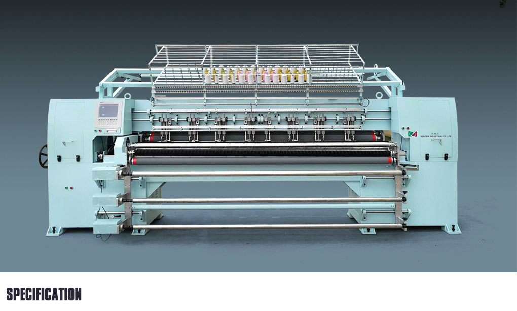 New Design Multi Needle Quilting Embroidery Machine