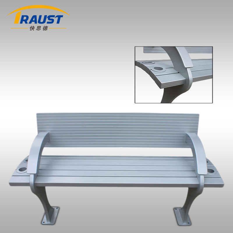2017 New Style Aluminum Benches with Back for Sale