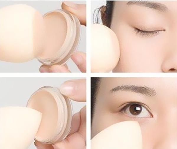Beautiful Water Droplets Non-Latex Makeup Sponge/Powder Puff