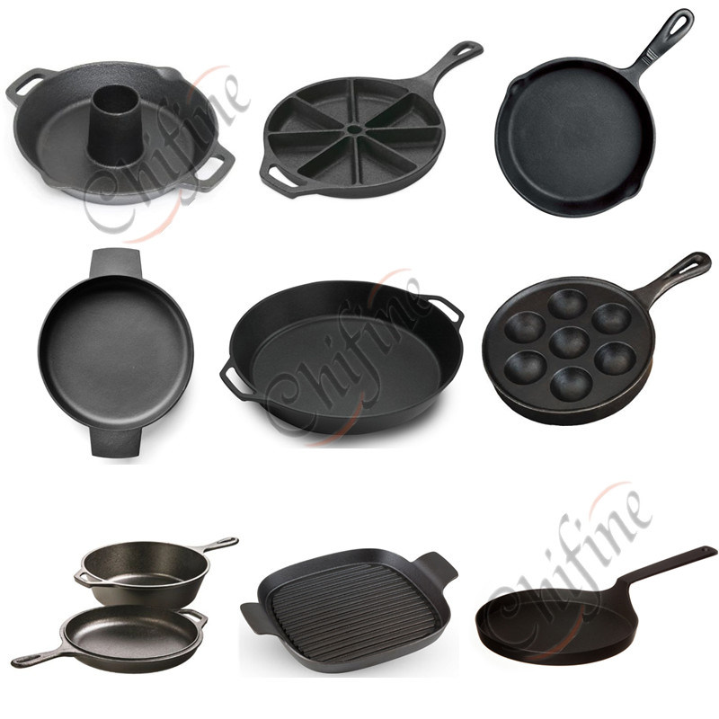Custom Cast Cookware Frying Pans