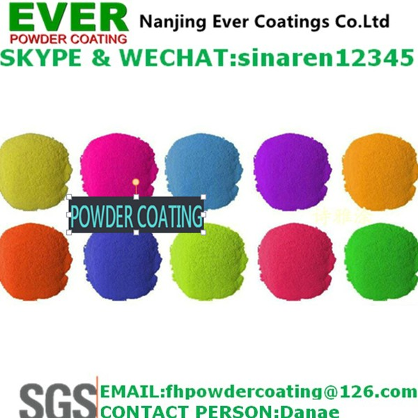 Anti Corrosion Zinc Rich Epoxy Powder Coating