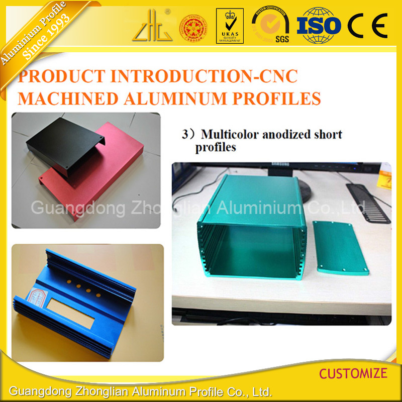Custom Making Aluminium Extrusion Case for Rechargeable Battery