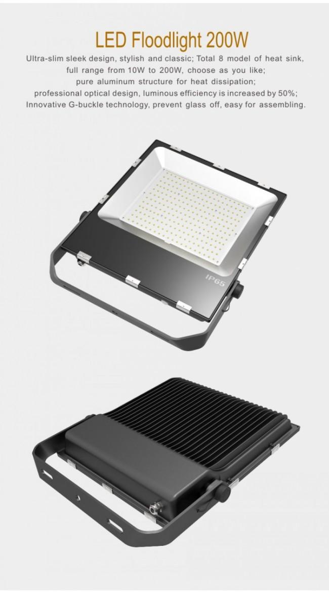5-Year Warranty 200W LED Floodlight High Power LED IP65 20000lm