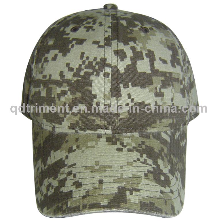 Washed 100% Cotton Twill Blank Plain Baseball Cap (TRNB020)