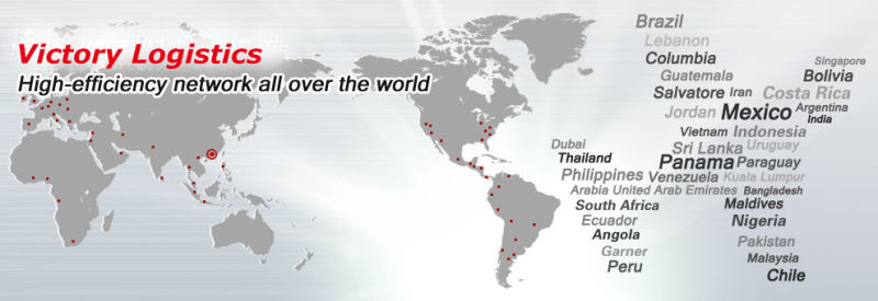 Sea&Air Forwarder Agent/ Freight Forwarder From China to Worldwide